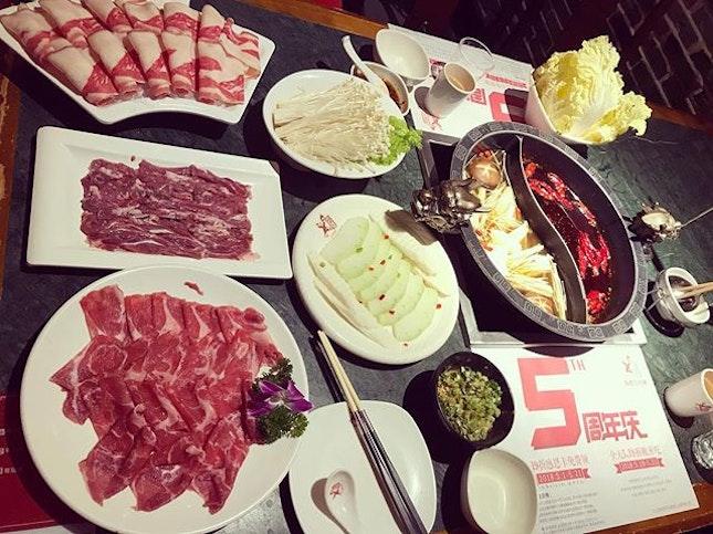 #本地人的口味 #重慶火鍋 #老味道 #舌尖上的美食 #這是幾人份啊?