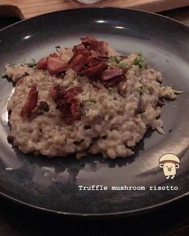 Truffle Mushroom & Bacon Risotto
