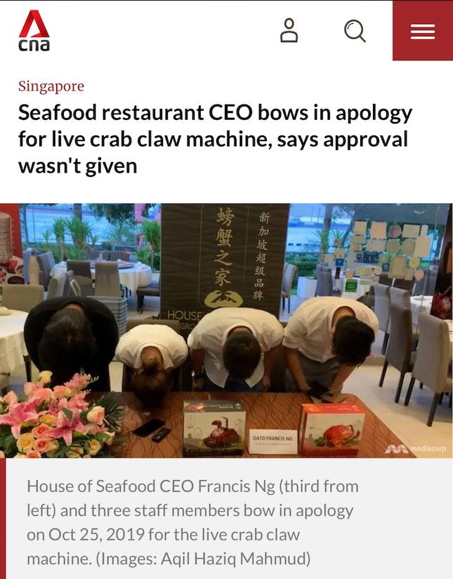 Animal Abuse Restaurant