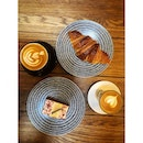   Over Coffee    Cake: 🆗 Flat White: 🆗 Gibraltar: 🆗 Croissant:✖️(stale) .