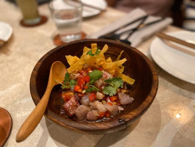 Seafood Creviche