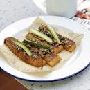 Deep Fried Mexican Prawn Toast