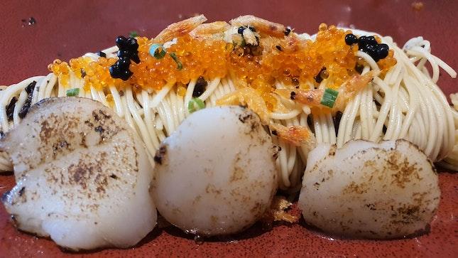 Truffle Scallop Pasta
