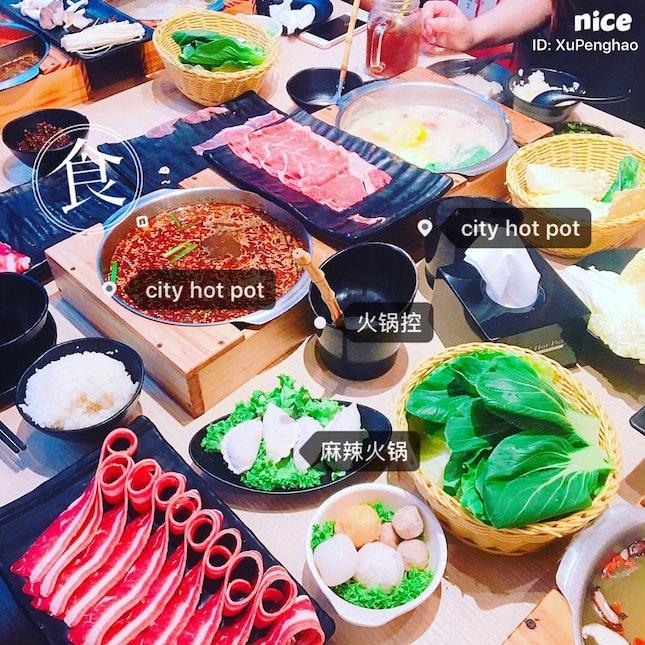 Nice Food At Raffles City