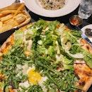 Truffle Pizza, Club Pizza, Chicken&Mushroom Risotto, Thick-cut Truffle Fries