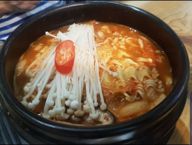Buddae jiggae (army stew) 1 pax portion