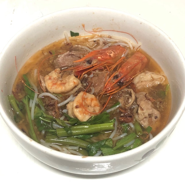Homecooked Prawn Noodles