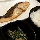 Gin Hiroshi Saikyo Set @ Nakajima Suisan Grilled Fish, Takashimaya Food Hall Basement 2.