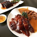 Roasted Goose & Premium Barbecued Pork Belly @ Yung Kee Restaurant 鏞記.
