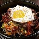Dolsot Bibimbap (Beef) With An Add-On Egg @ Three Meals A Day 一日三餐, 12 Chun Tin Road.