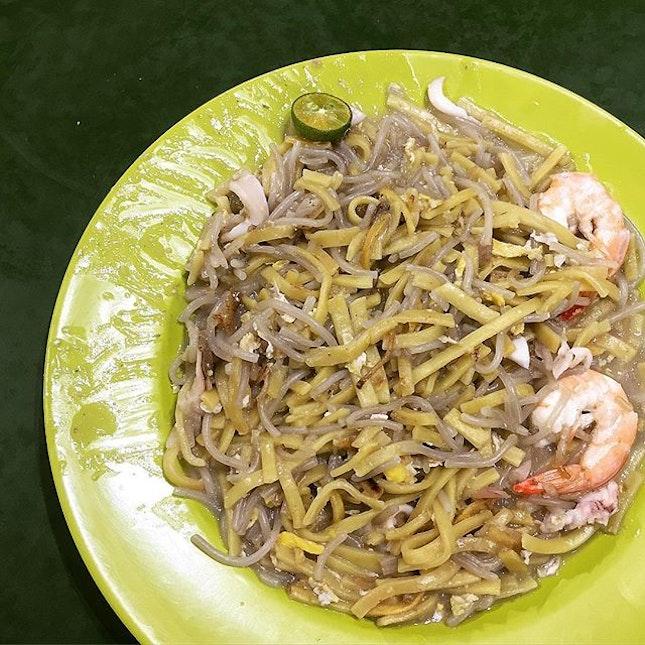 Fried Hokkien Mee ($3.00) @ Xie Kee Hokkien Mee謝記福建面, 51 Upper Bukit Timah Road, Bukit Timah Market & Food Centre #02-174.