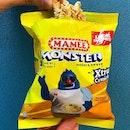 Enjoying My Favourite Mamee Monster Noodle Snack With Hainanese Chicken Rice Flavour!