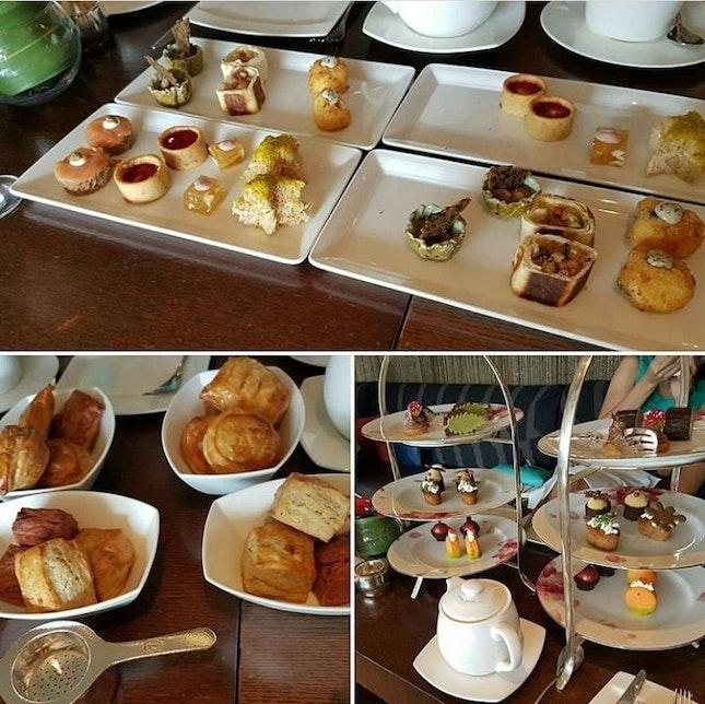 High Tea @ Axis Bar - Mandarin Oriental