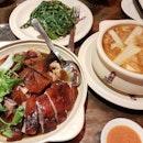 Very good duck! Nice Chinese food