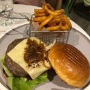 Classic Cheese Burger ($27++)