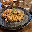 Crab And Scallop Pasta [$33++]