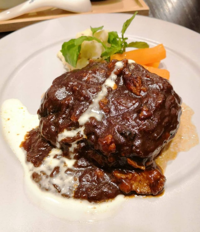 Hamburg Steak($42)