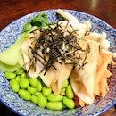 Dumpling Bowl($7)(Vegetarian friendly)