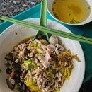 Mushroom Minced Meat Noodle($3.50)😋
