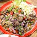 Cockle Salad($15)👌