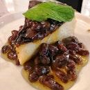 Burnt Rum & Raisin Cheesecake($12)😍