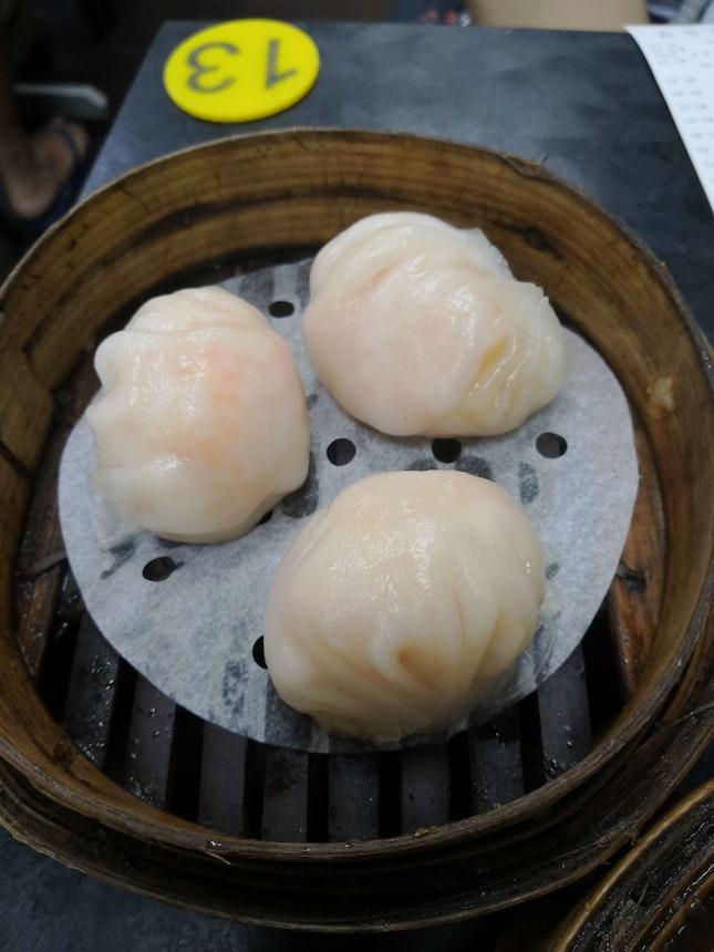 Victor's King Prawn Dumplings(3 pcs)($5.20)😋