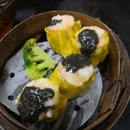 Tasty Queen Size Siew Mai with Black Truffle Topping(4 pcs)($6)👌