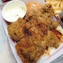 Crunchy Chicken with Pasta($8.90)🐔