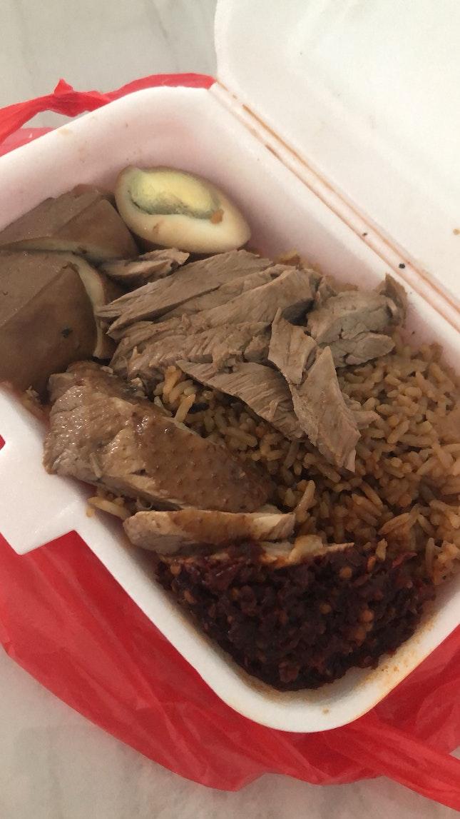 Yummy Duck Rice