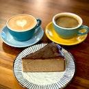 Espresso Burnt Cheesecake
