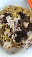 Mushroom Minced Meat Noodle