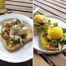Eggs Benedict + Avocado Poached Eggs