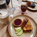 French Toast + Gluten Free Chocolate Cake
