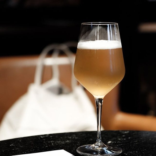 The @youngmasterales Cha Chaan Teng Gose in the historic Hokkien enclave of Chia Ann Siang, on draft (enough said) .