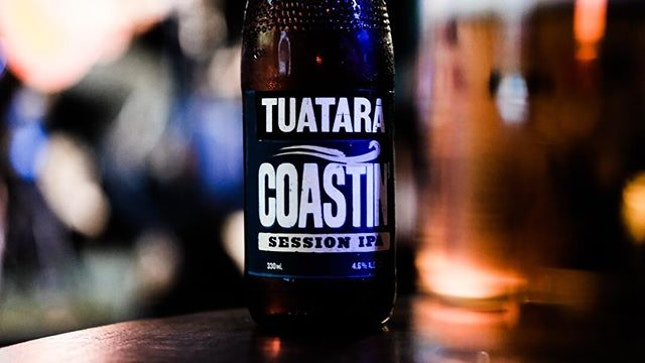 The Sunday chill session with a @tuatarabrew Session IPA and @jackandrai .