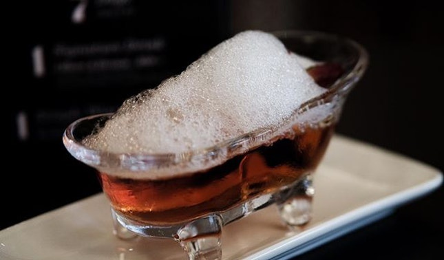 @lchristynelee I Have A Dream Negroni with lychee-infused vermouth was my first #negroniweek contribution.
