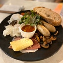 The Academics Breakfast With Poached Eggs $25