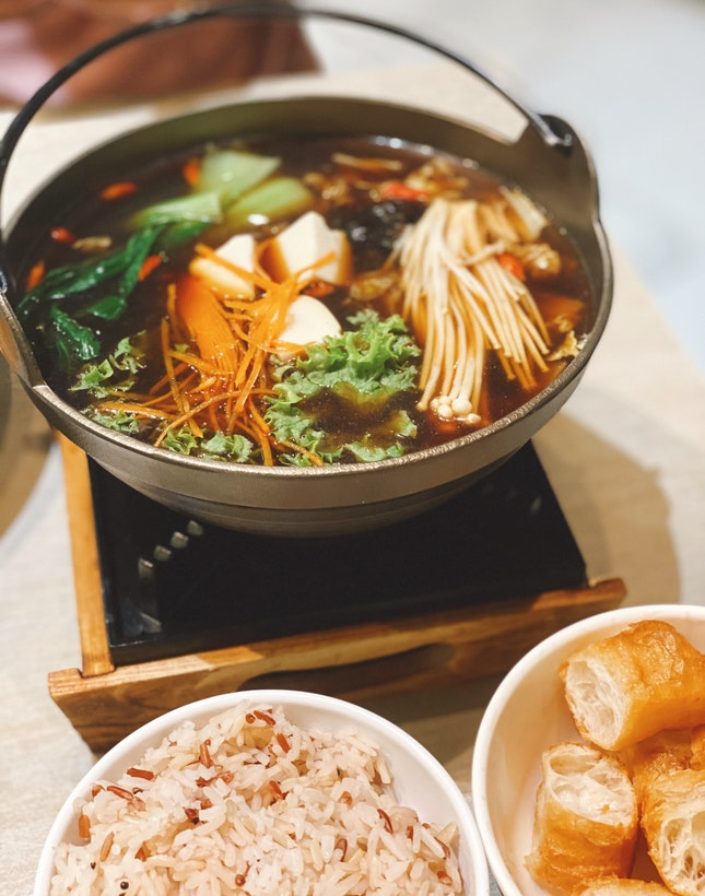 Black Kut Teh Lion Mane Hot Pot $16.90++