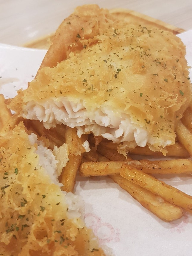 Fish & Chips ($7.90)