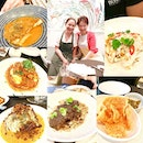 @straitsclan Take Over by @fat_fuku 😋 well-known Singapore-based food writer and private dining chef Annette Tan found time to make her rounds despite serving 2 sittings of excited dinner guests.