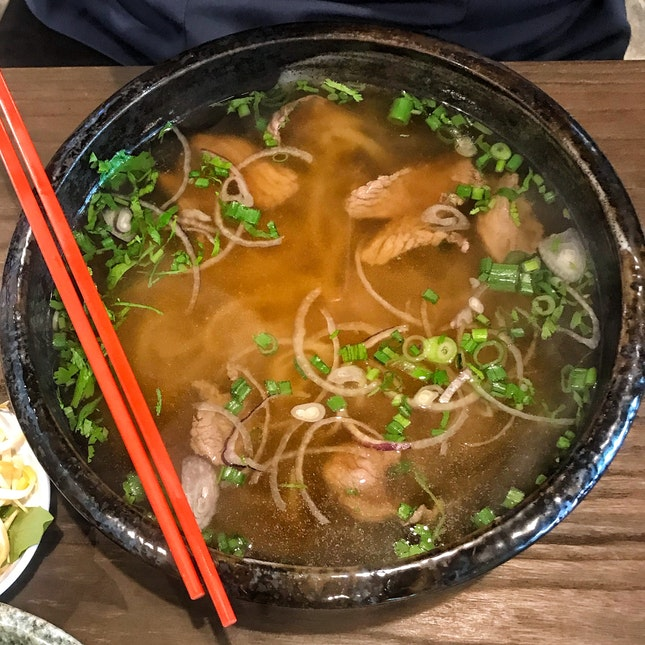 Torched Wagyu Pho (13.80++ OR $16++ Lunch Set)