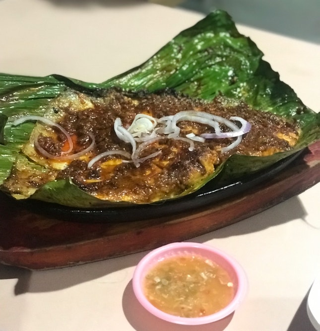 Sambal Stingray ($15) from Chomp Chomp BBQ