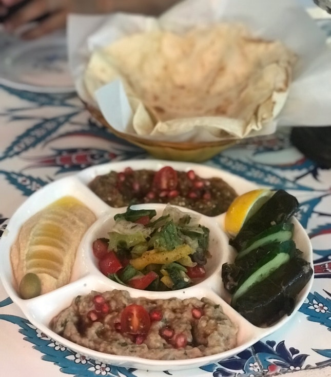 Mezze Platter ($25.90++)