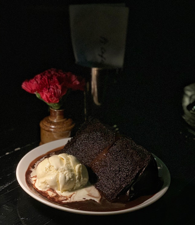 Double Chocolate Blackout Cake ($16++)