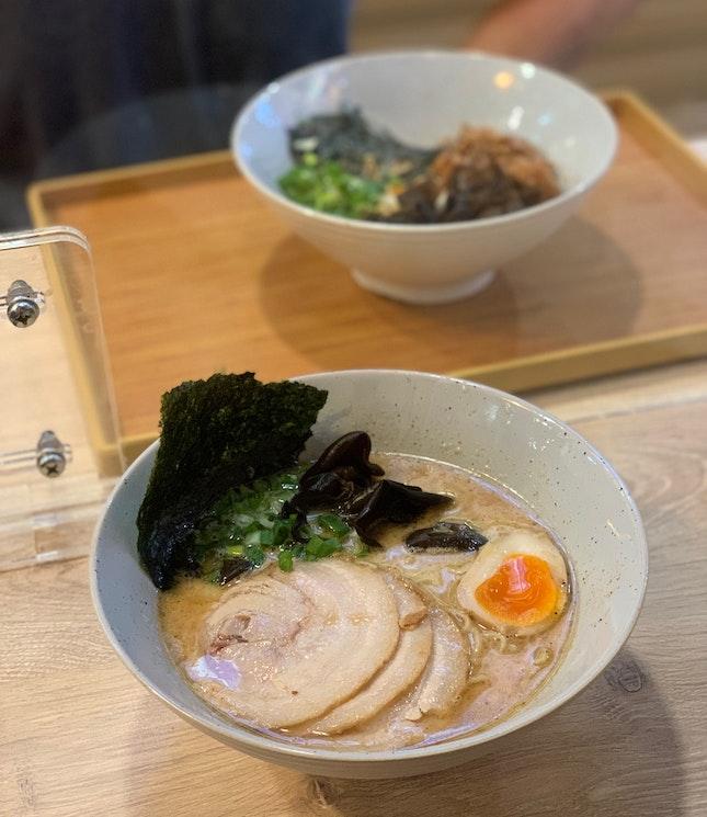Tonkotsu Gyokai Ramen (Non-spicy) ($8.90)