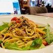 Lemony Tuna W/Mixed Herb Pasta