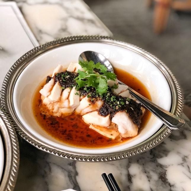Steamed 'Lasagna' of Snapper & Tofu
