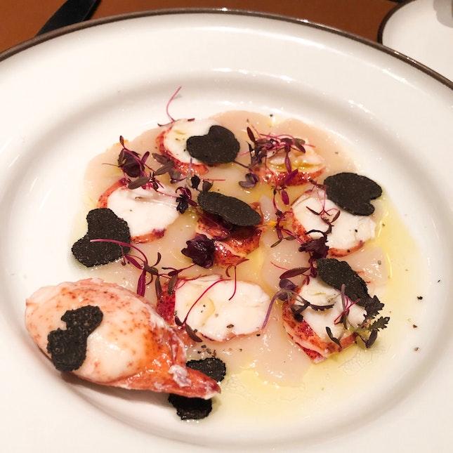 Lobster And Scallop Carpaccio $36