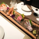 Assorted 5 Kinds Of Sashimi (Part Of 5-Course $99 Menu)