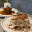 Tiramisu & Sticky Date Pudding